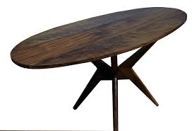 modern dining tables canada hand made walnut dining table modern kitchen table by vermont