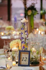 Fall Table Decorations For Wedding Receptions - 8 ideas we love from this beautiful blue fall wedding kate aspen