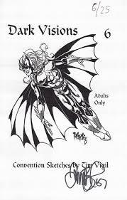 convention sketches by tim vigil soft cover 6b nimm98