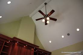 recessed lighting angled ceiling architecture ceiling fans with lights for vaulted ceilings wdays info