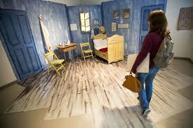 the bedroom van gogh unl art students convert van gogh s bedroom to study lounge