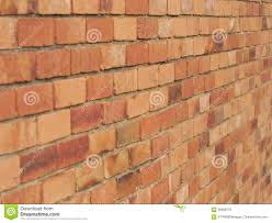 terracotta colored brick wall stock image image 49564099