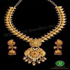 gold har set antique haar sets antique gold haar designs musaddilal jewellers