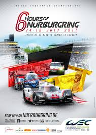 porsche racing poster 6 hours of nurburgring fia world endurance championship