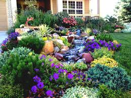 Front Yard Garden Ideas Front Yard Colorful Modern Front Yard Landscape Garden With