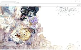 Violet Evergarden Violet Evergarden Wallpapers And New Tab Chrome Web Store