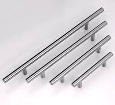 Mm Furniture  Stainless Steel Handle Cabinet Pulls Kitchen - Stainless steel kitchen cabinet handles and knobs