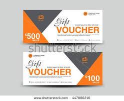 green gift voucher vector illustration green gift voucher template flyer design polygon background coupon
