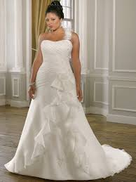 cheap plus size wedding dress simple chiffon a line plus size wedding gown with straps ps140n