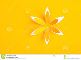 paper greeting cards greeting card with paper flower stock photo image 32443612