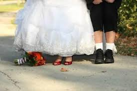funny shoe picture weddingbee