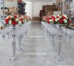 wedding candelabra centerpieces wedding decoration 5 arm candelabra centerpiece wedding