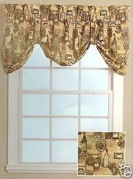 Tuscan Valance Kitchen Curtain Home Kitchen Curtain Window Sets Poppy Kitchen