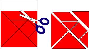 tangram puzzles how to make tangram puzzles geometric toys to make