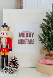 merry christmas printable burst