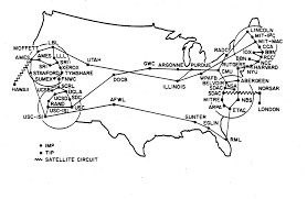 Eglin Afb Map A Map Of The Internet In 1973 Yes All Of It X Post R Pics
