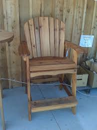 Free Adirondack Deck Chair Plans by Tall Adirondack Chair Plans For The Home Pinterest Bar
