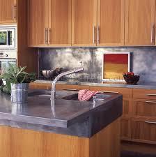 plan de travail cuisine en zinc plan de travail en zinc simple diy ides dulots de cuisine fabriquer
