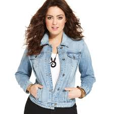 black jean jacket plus size jean dev