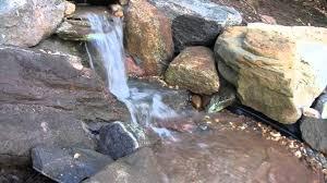 diy pondless waterfall youtube