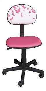 chaise pour bureau enfant chaise de bureau pour enfants papillons dreamland