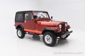 classic jeep cj 1985 jeep cj 7 exotic and classic car dealership specializing in