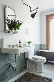 bathroom ideas with clawfoot tub freshen up your bathroom in 2017 with this mixed tile trend bath