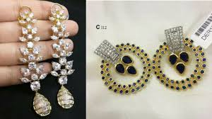 diamond earrings design work earring designs diamond earrings earrings