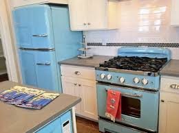 retro style kitchen appliances 1940s kitchens theme for