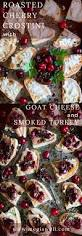 smoking thanksgiving turkey bags roasted cherry crostini with goat cheese and smoked turkey meg