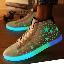 high top light up shoes brand new unisex men women casual high top light up shoes for
