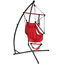 Hammock And Stand Set Sunnydaze Durable X Stand And Hanging Hammock Chair Set Or X Chair