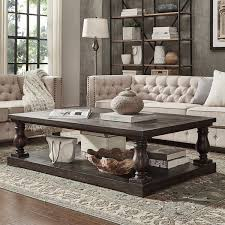 living room great baluster coffee table cornerstone home interiors