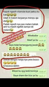 chusnul hwi pare on twitter suami lemas istri gak puas suami