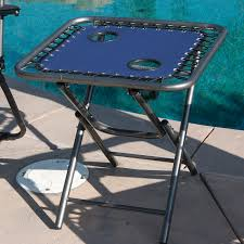 Zero Gravity Outdoor Chair 2 Zero Gravity Folding Lounge Chairs Folding Table W Cup