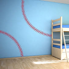 wall decal design awesome baseball decals for walls decor vinyl wall decal design decor vinyl softball sports infant toddler ball team major athlete club exercise