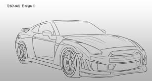 nissan silvia drawing image gallery nissan skyline drawings