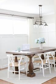 how to decorate your dining room table for the everyday i would instantly add that onto our table for now though i switch off between two simple staples that pull the space together with very little effort