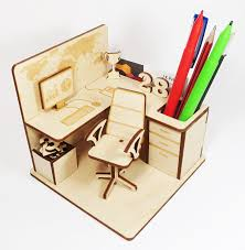 diy office cubicle pen stand home office desk stationary