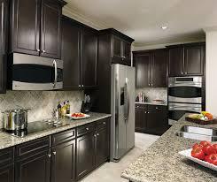 Cabinet In Kitchen Sarsaparilla Cabinets In Casual Kitchen Aristokraft