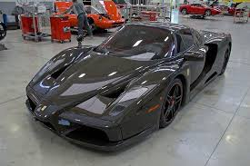 ferrari custom paint the world u0027s only bare carbon ferrari enzo is up for sale