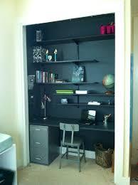 a closet making a desk in a closet roselawnlutheran