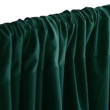 Hunter Green Window Curtains by 10ft Hunter Green Polyester Fire Retardant Curtain Stage Backdrop