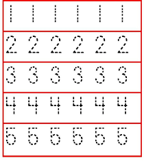number tracing worksheets frog number and letter tracing a to z