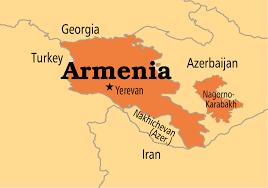 armenia on world map armenia operation world