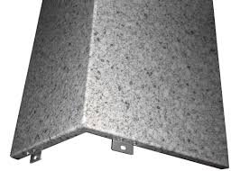 custom fabricated aluminum architectural panels with granite