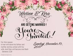 wedding invitations with pictures wedding invitation templates postermywall