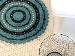 Round Bathroom Rugs Round Bath Mats Or Rugs The Nomad Bath Rug Offers A Coordinating