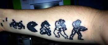 evolution of gaming tattoo dorkly post
