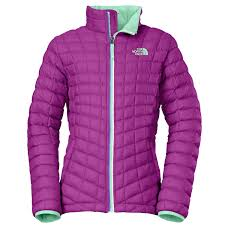 Outlet Lema by The North Face Thermoball Full Zip Jacket Girls Magic Magenta Jpg